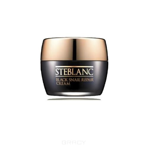 Steblanc, Крем для лица восстанавливающий с муцином Черной улитки (92%) Black Snail, 50 мл STB_800BL интенсивный крем для глаз с муцином улитки 30 мл eunyul для лица