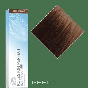 все цены на Wella, Стойкая крем-краска для волос Koleston Perfect Innosense, 60 мл 7/7 блонд коричневый онлайн