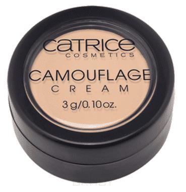 Catrice, Маскирующее средство Camouflage Cream, 14 г (5 оттенов),  , тон 010, слоновая кость, Ivory
