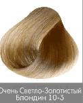 Купить Nirvel, Краска для волос ArtX профессиональная (палитра 129 цветов), 60 мл 10-3 Золотистый очень светлый блондин