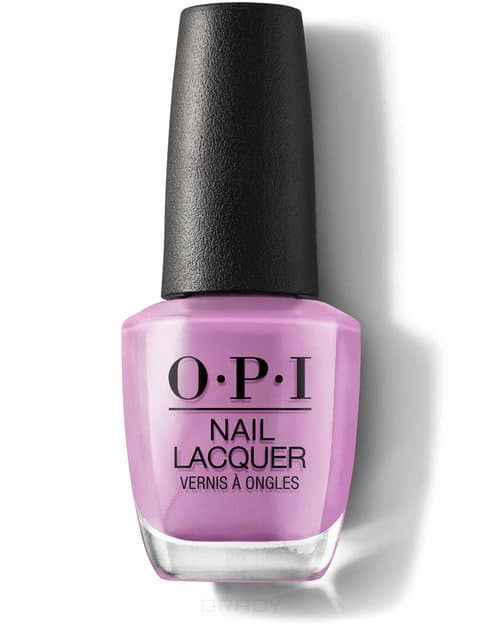 OPI, Лак для ногтей Nail Lacquer, 15 мл (214 цветов) One Heckla of a Color! / Iceland opi лак для ногтей classic nlw60 squeaker of the house 15 мл