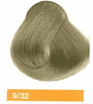 Lakme, Перманентная крем-краска Collage, 60 мл (99 оттенков) 9/32 Светлый блондин золотисто-фиотлетовый lakme перманентная крем краска collage 60 мл 99 оттенков 9 34 светлый блондин золотисто медный