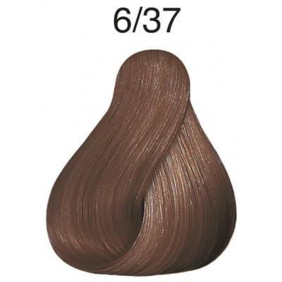 Купить Wella, Краска для волос Color Touch, 60 мл (56 оттенков) 6/37 темный блонд золотисто-коричневый