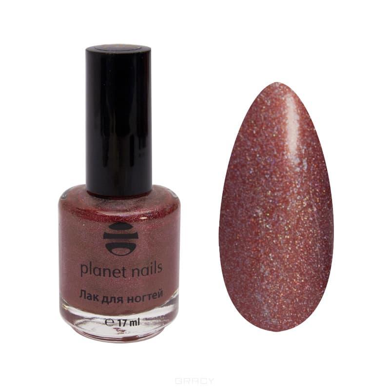 Planet Nails, Голографический лак для ногтей, 17 мл (34 оттенка) 211 planet nails голографический лак для ногтей 17 мл 34 оттенка 200 17 мл