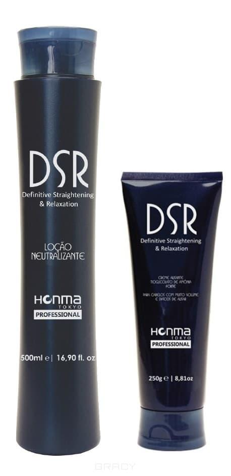 Линия «DSR» Мягкий, 2*500 млЛиния  DSR  была разработана, для Релаксации и Выпрямления очень и не сильно объемных волос, которые требуется выпрямить. В ее формулу входят масла Арганы и Баобаба, которые богаты витамином Е, обладают антиоксидантной активностью, укрепляют, увлажняют волосы, таким образом, уменьшая их износ, вызванный химическими процессами, сохраняет волосы здоровыми и блестящими. &#13;<br>Линия «DSR» включает в себя: Шаг 1 «РАЗГЛАЖИВАЮЩИЙ КРЕМ (ТИОГЛИКОЛЯТ АММОНИЯ) МЯГКИЙ» и Шаг 2 «НЕЙТРАЛИЗУЮЩИЙ ЛОСЬОН».<br>