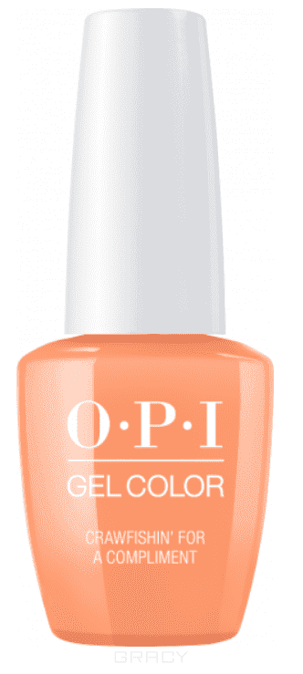 OPI, Гель-лак GelColor, 15 мл (95 цветов) Crawfishin' For A Compliment beautix гель лак 311 15 мл