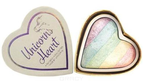 Купить I Heart Revolution, Хайлайтер для лица и глаз Blushing Hearts (3 вида), 1 шт, Dragons Heart