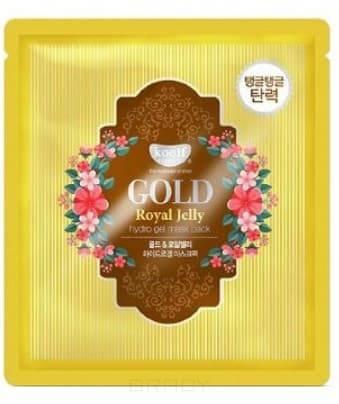 Купить Koelf, Hydrogel Mask Pack Гидрогелевая маска с коллоидным золотом и пчелиным маточным молочком Gold & Royal Jelly Hydro Gel Mask, 30 г