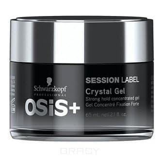 Schwarzkopf Professional, Гель для волос с экстра-фиксацией Crystal Gel Osis+ Session Label, 65 мл моделирующая паста 65 мл schwarzkopf professional osis session label