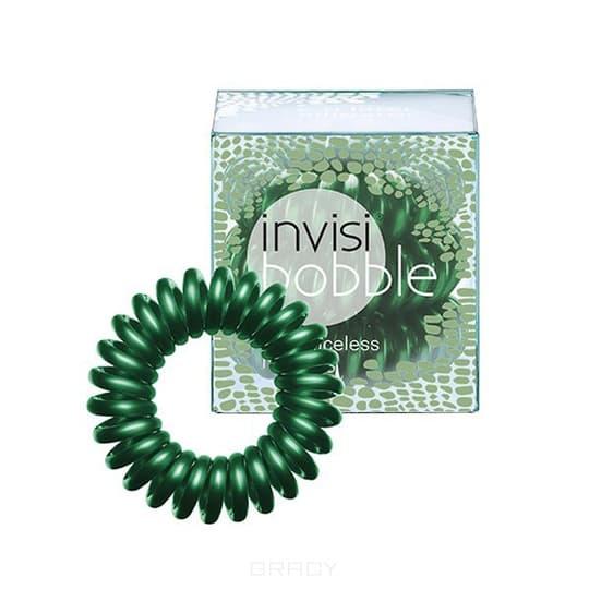 Invisibobble, Резинка для волос темно-зеленая C U Later Alligator (3 шт.)Зажимы, шпильки, резинки<br><br>