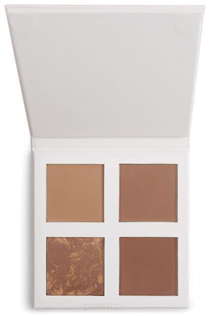 Revolution Pro, Палетка бронзеров 4K Bronzer Palette (2 вида), 4 оттенка, Cool mac pro palette палетка средняя 2 оттенка pro palette палетка средняя 2 оттенка