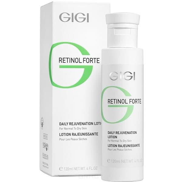 GiGi, Лосьон-пилинг для нормальной  сухой кожи Retinol Forte Rejuvenation Dry, 120 мл