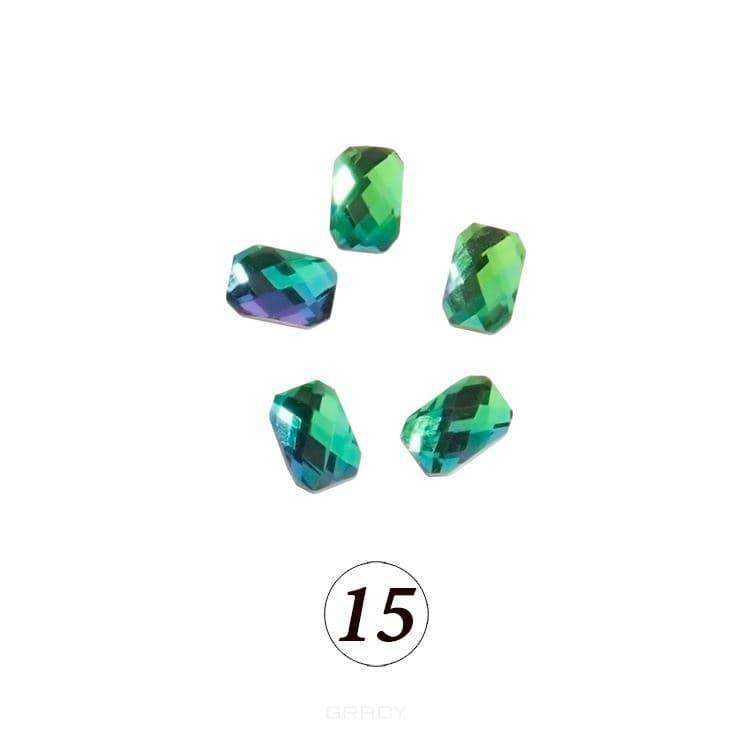 Купить Planet Nails, Цветные фигурные стразы в ассортименте (76 видов), 5 шт/уп Планет Нейлс №15