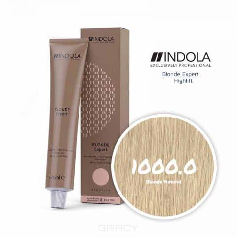 Купить Indola, Индола краска для волос профессиональная Profession, 60 мл (палитра 141 цвет) Блонд Эксперт 1000.0 блонд натуральный