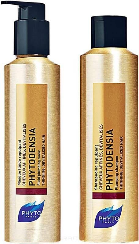 Phytosolba, Набор для волос Фитоденсия 2018 (шампунь, маска), 50/50 мл phytosolba фитоденсия маска флюид уплотняющая 50 мл