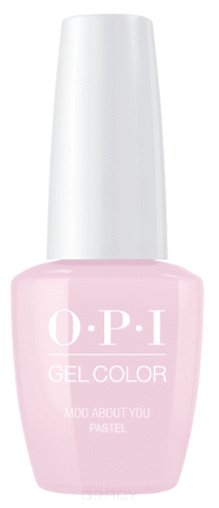 OPI, Гель-лак GelColor, 15 мл (95 цветов) Pastel Mod About You beautix гель лак 311 15 мл