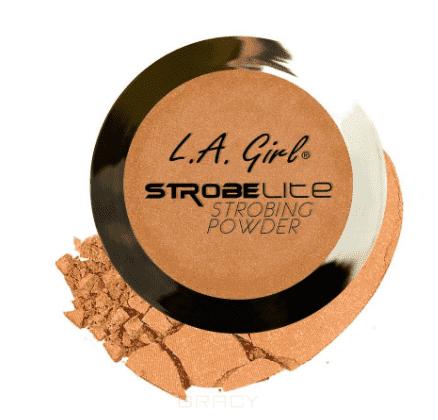 L.A. Girl, Пудра для стробинга компактная Strobe Lite Strobing Powder (10 оттенков) тон 80 ватт