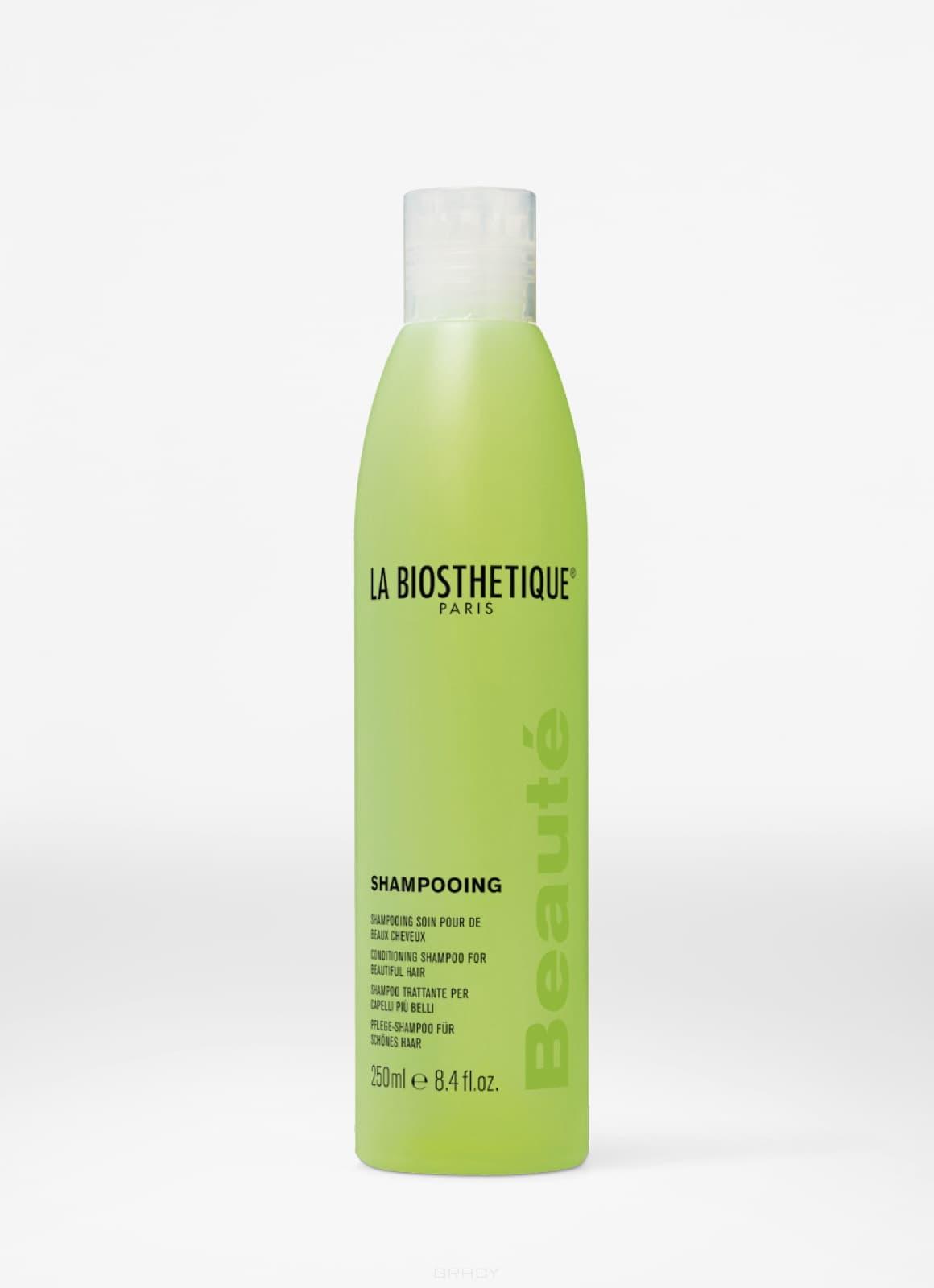 цены La Biosthetique, Набор для волос новогодний Must Have Set (Shampooing Beaute Шампунь фруктовый для волос всех типов 250 мл, Power Уход Mask Volume Complexe 3, 100 мл)