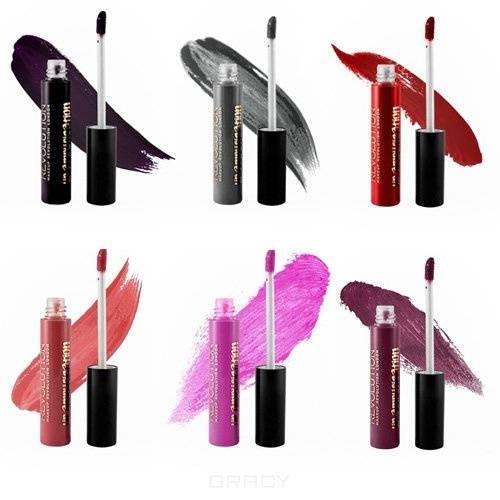 MakeUp Revolution, Блеск для губ Lip Amplification, 7 мл (4 оттенка), Limitless, темно-графитовый  - Купить
