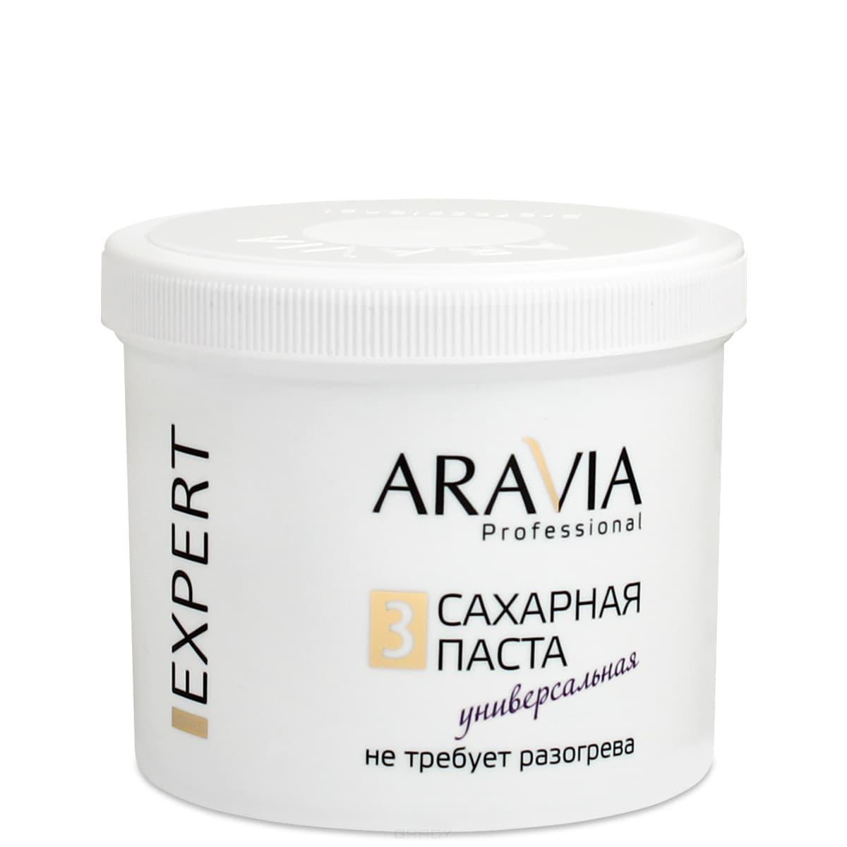 Aravia, Сахарная паста для депиляции EXPERT 3 Универсальная, 750 грПаста для шугаринга<br><br>