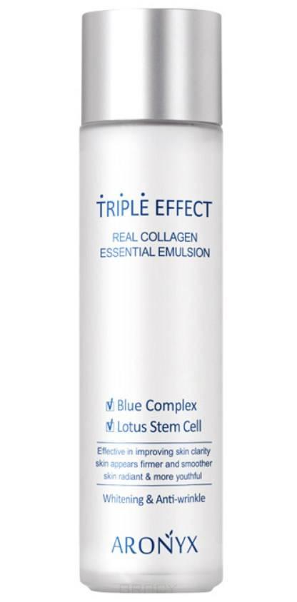 Купить Medi Flower, Эмульсия с морским коллагеном Тройной эффект Aronyx Triple Effect Emulsion, 150 мл