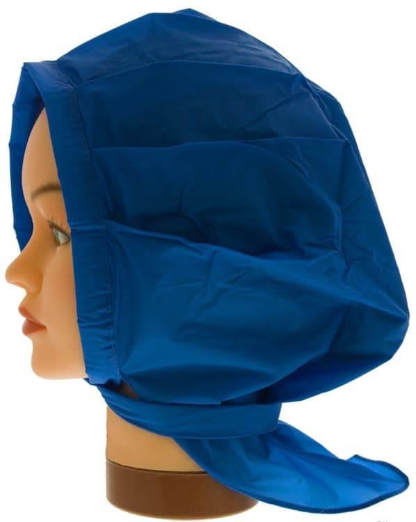 Sibel, Косынка пластиковая для химии (3 цвета), шт. Цвет: голубой sibel комплект губок для химии 3 шт