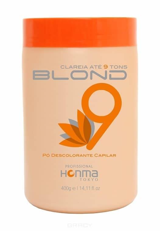 Блонд 9%, 400 мл9 BLOND - это отбеливающий порошок, в состав которого входят: Арахисовое масло, фосфолипиды, Подсолнечное масло, которые способствуют процессу отбеливания волос, проникая в их структуру и защищая их от износа вызванного химическими процессами; матовые пигменты, которые помогают нейтрализовать желтизну волос.  9 Blond  имеет очень эффективную формулу, которая позволяет аккуратно и равномерно по всей длине отбеливать пряди волос.<br>