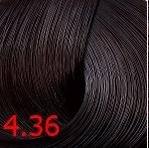Купить Kaaral, Стойкая крем-краска для волос ААА Hair Cream Colourant, 100 мл (93 оттенка) 4.36 золотисто-красный каштан