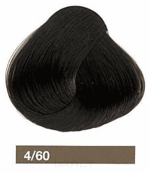 Lakme, Перманентная крем-краска Collage, 60 мл (99 оттенков) 4/60 Средний шатен коричневый eugene carmen ultime перманентная крем краска 3 темный шатен 60 мл
