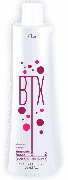 BB One, BTX Classic Ботокс для волос White pH=4,5 Шаг 2, 100 мл bb one набор ботокс для волос btx classic white thermo mask без пигмента шаг 1 шаг 2 2х1000 мл