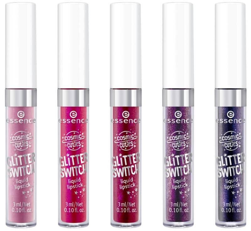 Купить Essence, Жидкая помада-глиттер Cosmic Cuties Glitter, 3 мл (5 тонов), №04, фиолетовый