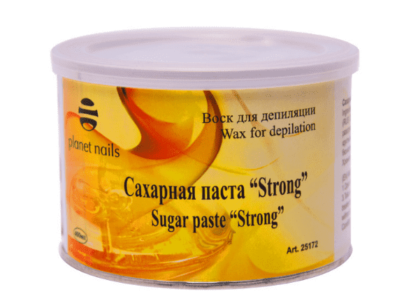 Сахарная паста Strong, 400 млНазначение: Паста  Strong  подходит для работы в теплых помещениях, при депиляции участков кожи с повышенной влажностью и температурой.&#13;<br>&#13;<br>  &#13;<br>&#13;<br>&#13;<br>Объем: 400 мл&#13;<br>&#13;<br>Страна производитель: Италия<br>