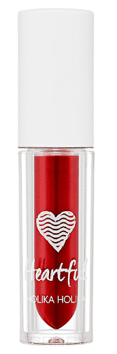 Holika Holika, Вельветовая помада-мусс Хартфул Флюид Heartful Fluid Mousse, 2,2 мл (6 тонов) Тон RD10, красный мусс тонирующий тон 1 sand soft touch matt mousse essence