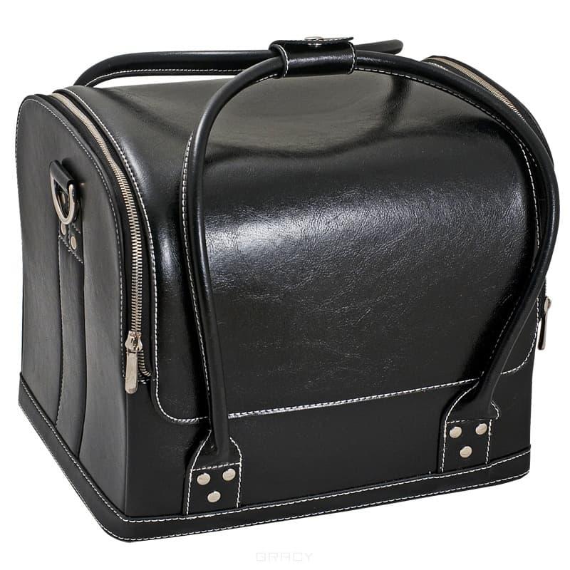 Сумка-чемодан черная MAXВ сумку помещается УФ лампа В: Да&#13;<br>Вес для почты: 2900&#13;<br>&#13;<br>Материал: Кожзам&#13;<br>&#13;<br>Размер: 32х28х25 см&#13;<br>&#13;<br>Страна производитель: Китай&#13;<br>&#13;<br>Цвет: Черный<br>
