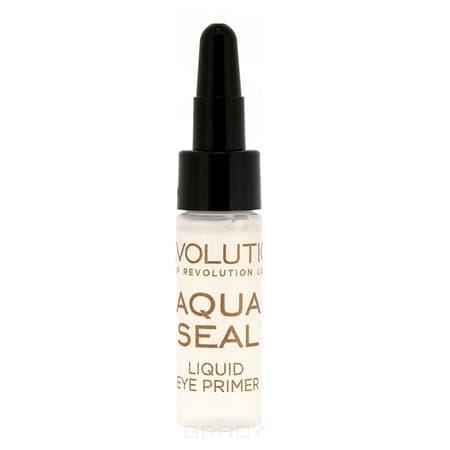 Купить MakeUp Revolution, База и фиксатор для теней Aqua Seal Liquid Eye Primer, 5.5 мл