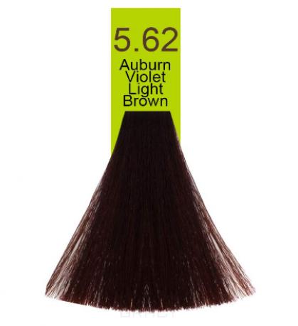 Купить Macadamia Natural Oil, Краска для волос Oil Cream Color, 100 мл (97 тонов) 5.62 Красно-радужный яркий каштановый