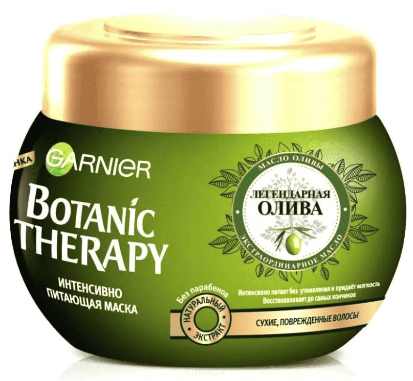 Garnier, Маска для волос Олива Botanic Therapy, 300 мл маска для поврежденных и секущихся волос garnier botanic therapy 300 мл