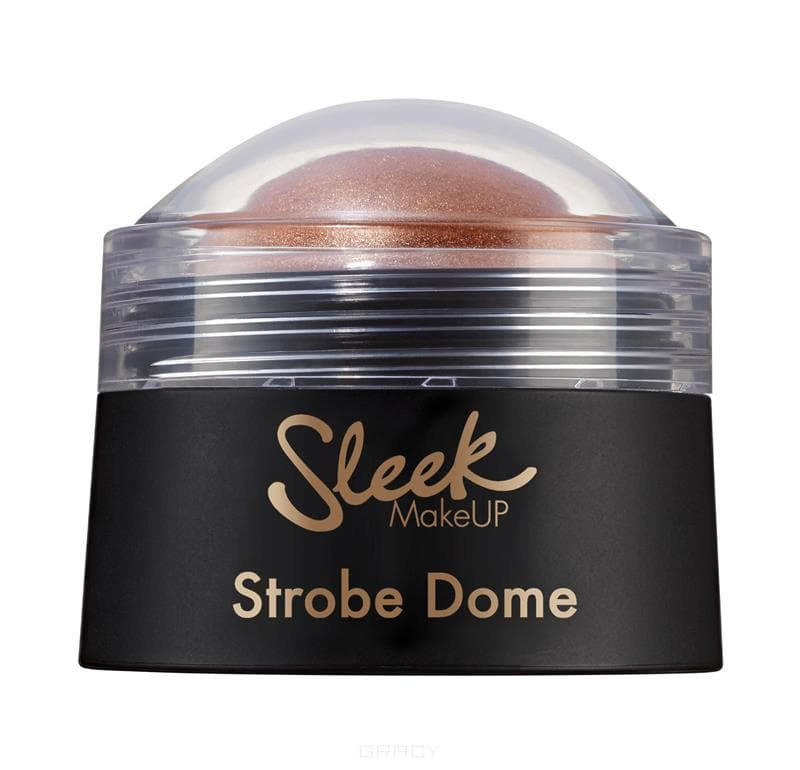 Sleek MakeUp, Хайлайтер Into the Night Strobe Dome (2 оттенка), 1 шт, Тон Bronze 1159 sleek makeup into the night strobe dome bronze хайлайтер тон 1159