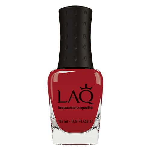 LAQ, Лак для ногтей Страстный красный Passion Red, 15 мл (6 оттенков) 10117 Kiss Me Поцелуй Меня