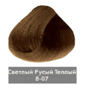 Купить Nirvel, Краска для волос ArtX (палитра 129 цветов), 60 мл 8-07 Теплый натуральный светлый блондин