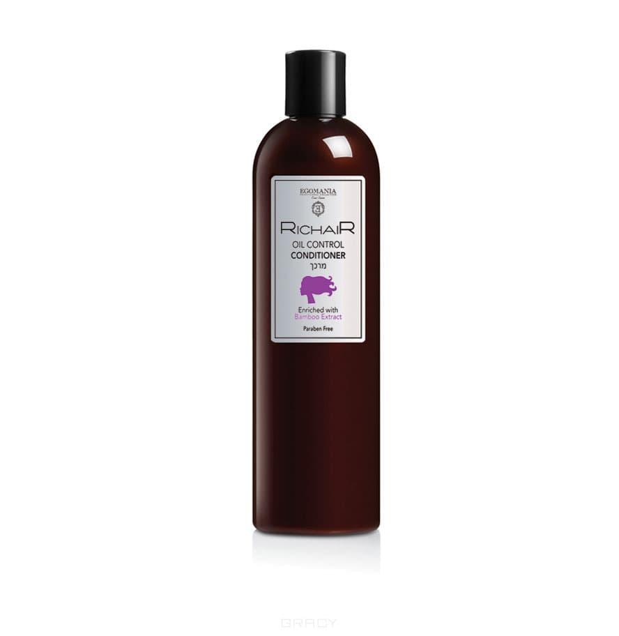 Купить Egomania, Кондиционер для контроля жирности кожи головы с экстрактом бамбука Richair, 400 мл