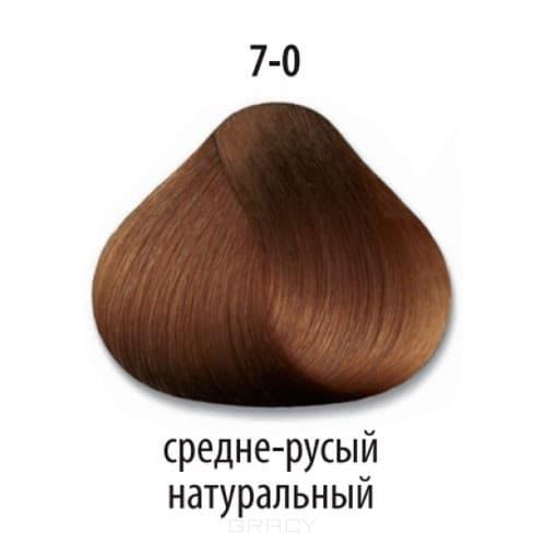 Constant Delight, Краска для волос Констант Делайт Trionfo (палитра 74 цвета), 60 мл 7-0 Средний русый натуральный constant delight крем краска delight trionfo 7 42 средний русый бежевый пепельный 60 мл