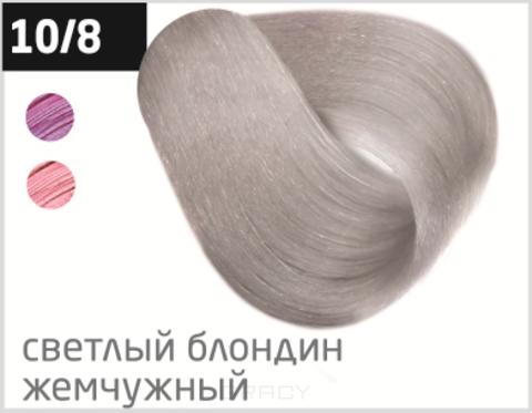 Купить OLLIN Professional, Безаммиачный стойкий краситель для волос с маслом виноградной косточки Silk Touch (42 оттенка) 10/8 светлый блондин жемчужный