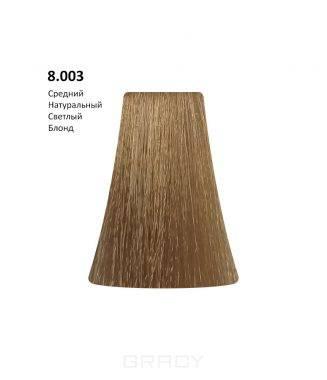 Купить BB One, Перманентная крем-краска Picasso (153 оттенка) 8.003Medium Natural Light Blond/Средний Натуральный Светлый Блондин