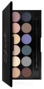 Sleek MakeUp, Тени для век в палетке Eyeshadow Palette I-Divine, 12 тонов (13 видов) тон Storm 578 цена