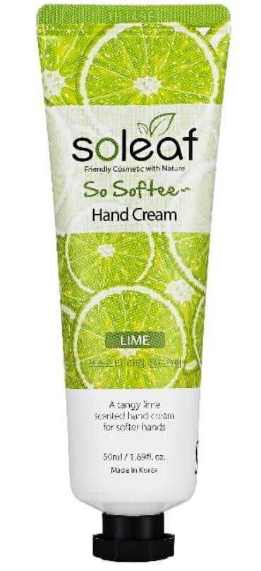 Купить Soleaf, Крем для рук Лаймовая свежесть So Softee Hand Cream Lime, 50 мл
