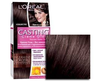 LOreal, Краска для волос Casting Creme Gloss (37 оттенков), 254 мл 412 Какао со льдомОкрашивание<br><br>