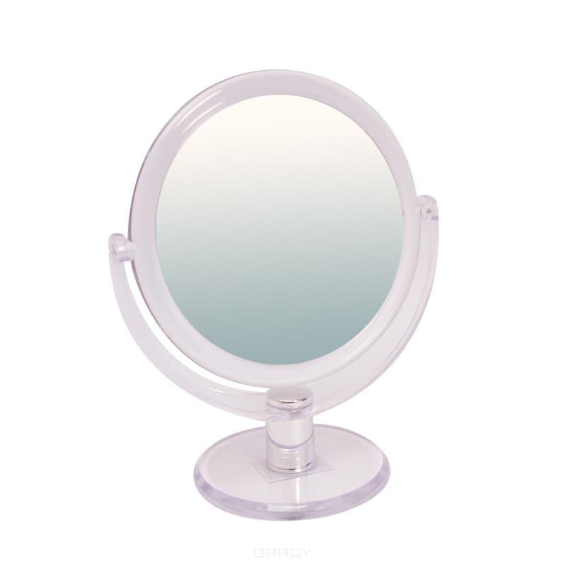 Planet Nails, Зеркало Titania двухстороннее на ножке, 160 ммЩеточки дл ногтей и другие аксессуары<br><br>