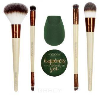 Ecotools, Набор для макияжа Warm Winter Glow Beauty Kit