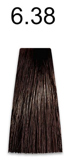 Купить Kaaral, Стойкая безаммиачная крем-краска с гидролизатами шелка Baco Soft Ammonia Free, 60 мл (42 оттенка) 6.38 темный золотисто-коричневый блондин